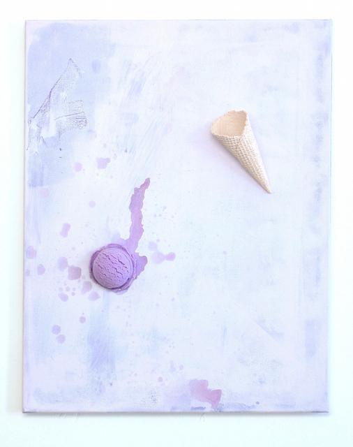 , 'Floatingice cream(Purple),' 2014, XYZ collective