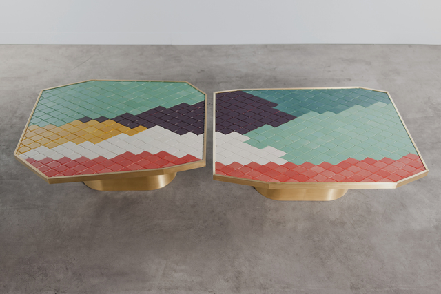 India Mahdavi, 'Landscapes tables SET #3 and #4,' 2013, Carwan Gallery