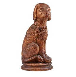 Carved Spaniel Dog