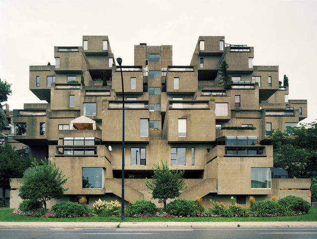 ", 'Montreal 1967 World's Fair, 'Man and His World,"" Habitat 67,' 2012, Tracey Morgan Gallery"