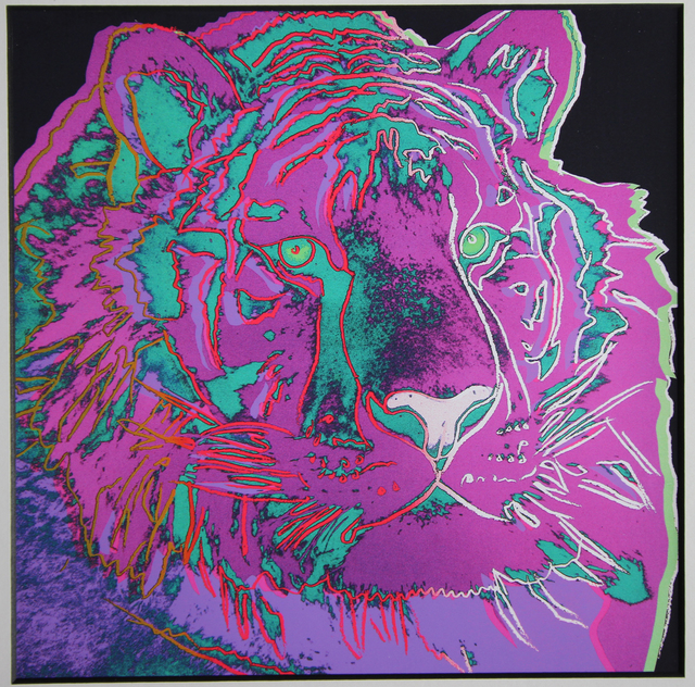 Andy Warhol, 'Tiger for Art Basel', 1987, EHC Fine Art Gallery Auction