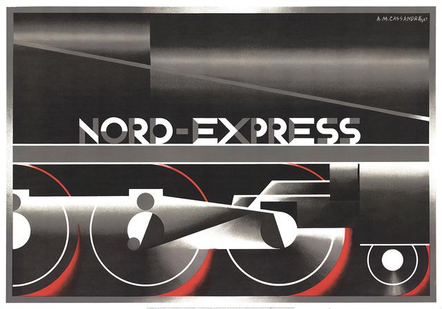 , 'Nord-Express (RESTRIKE),' 1995, ArtWise