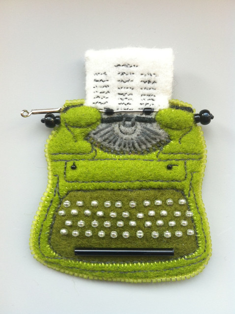 , 'Vintage Typewriter (Royal Portable in Key Lime),' 2017, The Painting Center