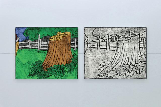 , 'Comic Details (trunk),' 2012, Cristina Guerra Contemporary Art