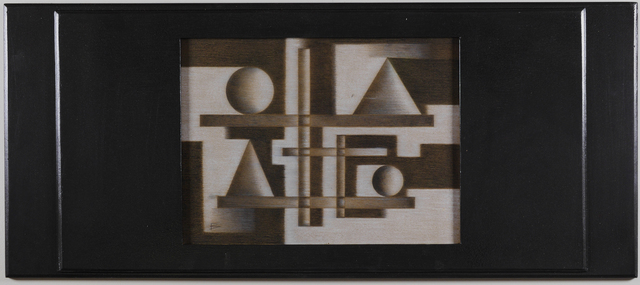 , 'Untitled. Geometric Composition,' ca. 1950, AREVALO