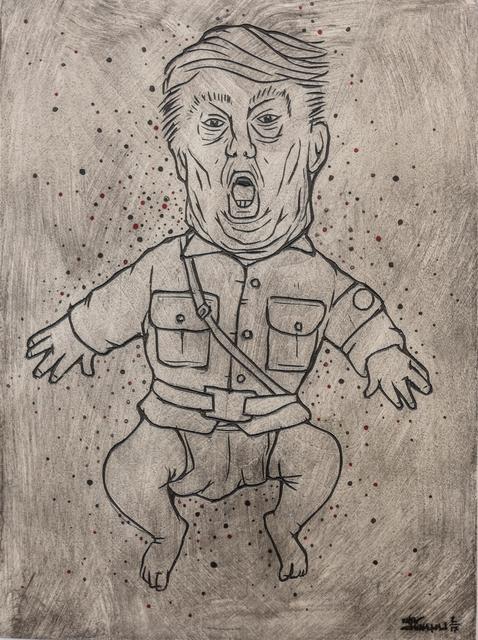 , 'RESIST,' 2017, curator19.90