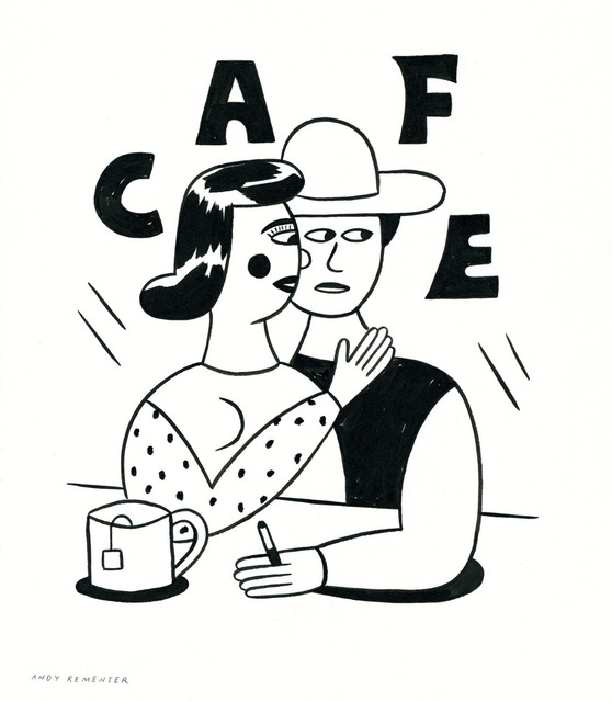 , 'Cafe,' 2014, Patrick Parrish Gallery
