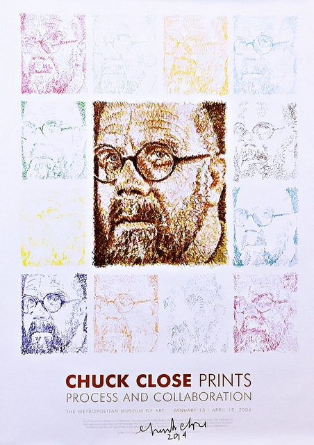 Chuck Close, 'Chuck Close Prints - Process and Collaboration (Hand Signed)', 2004-2014, Alpha 137 Gallery