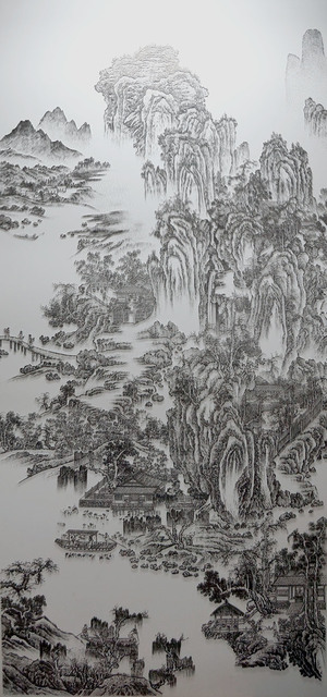 , 'Imitating the Landscape painting by Anonymous Artist from Song Dynasty 1,' 2016, Double Square Gallery