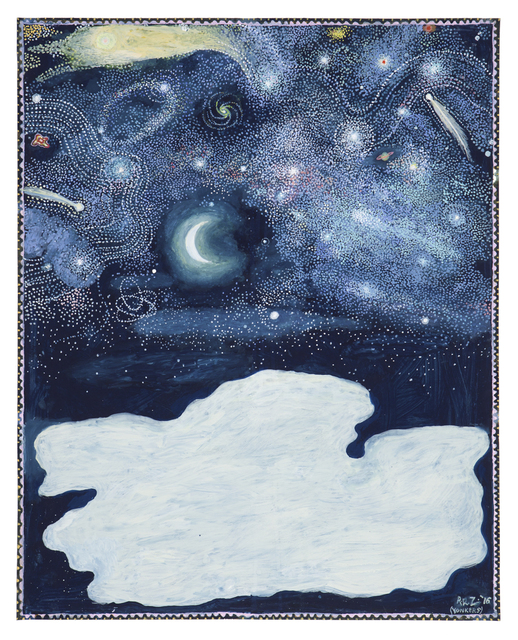 , 'Leda and the Swan (In the Lights of the Stars),' 2016, Nancy Hoffman Gallery