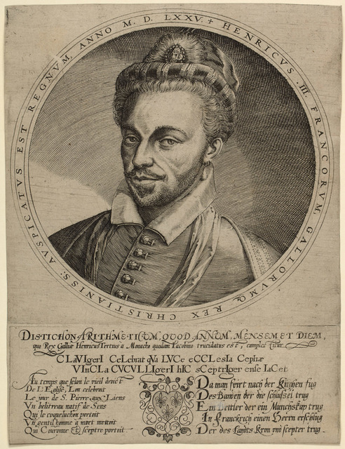 , 'Henri III, King of France,' , Emanuel von Baeyer