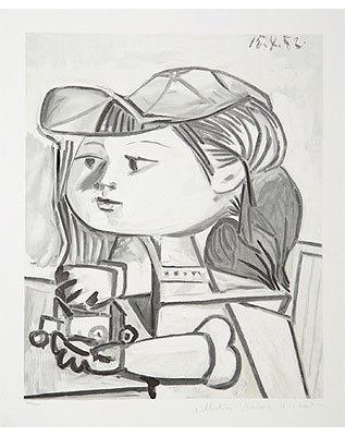 Pablo Picasso, 'Buste-de-Petite-Fille  ', 1979, Broadway fine Art