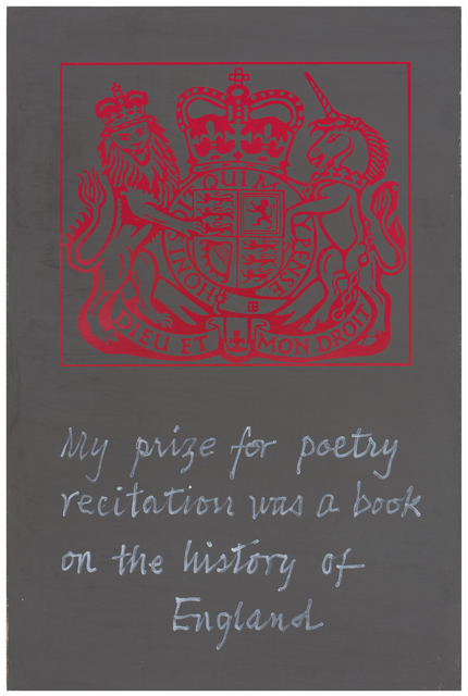 , 'History of England,' 2016, Postmasters Gallery