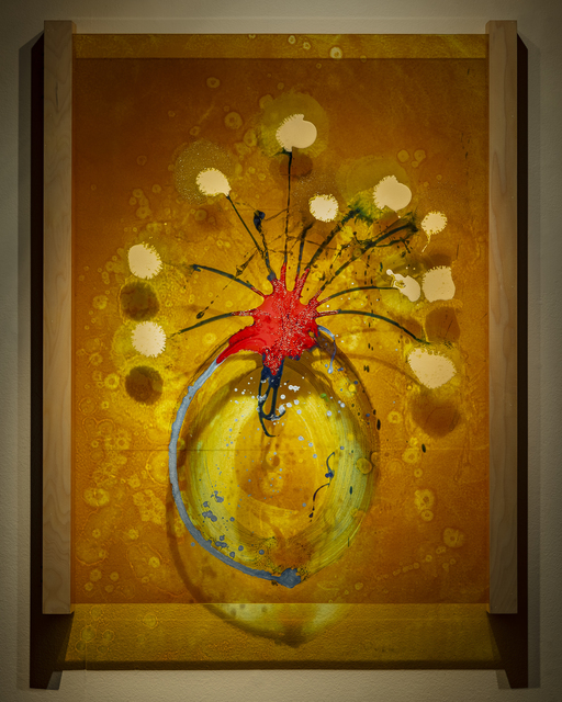 Dale Chihuly, 'Ikebana Glass on Glass Painting (DCHI 0557)', 2018, Arthur Roger Gallery
