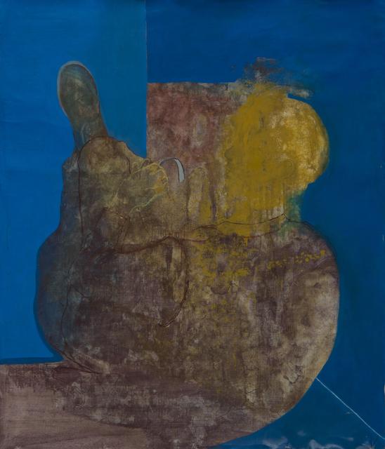 Jeronimo Maya, ' Hombre de espaldas', 2016, Galería Espiral
