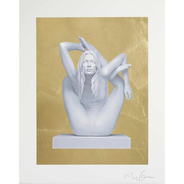 , 'Sphinx (gold leaf),' 2012, Candida Stevens