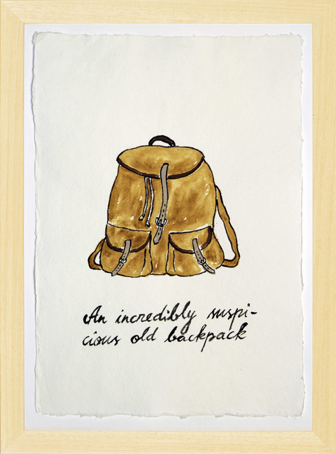 , 'Suspicious Bags: Old Backpack,' 2018, Temnikova & Kasela