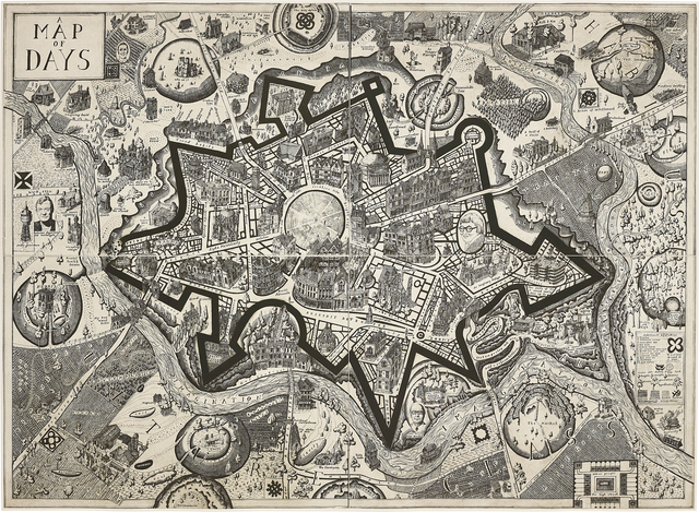 Grayson Perry, 'Map of Days', 2013, Phillips