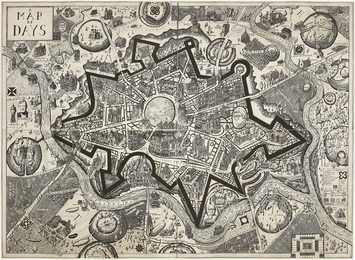 Grayson Perry, 'Map of Days,' 2013, Phillips: Evening and Day Editions