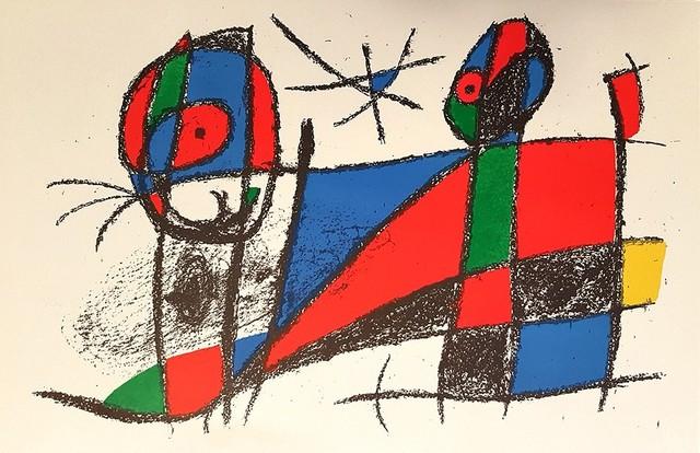 Joan Miró, 'Mirò Lithographe II - Plate VI', 1975, Wallector