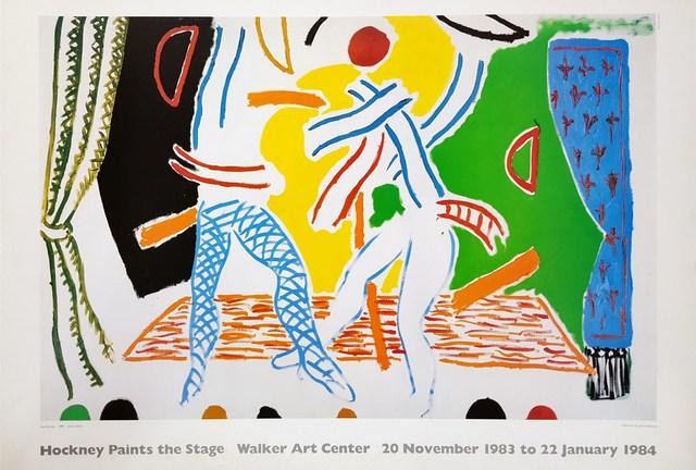 David Hockney, 'Hockney Paints the Stage', 1983, Graves International Art