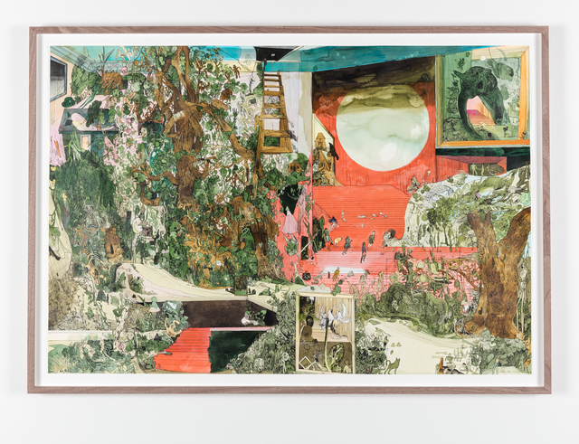Peter Köhler, 'By Following Nothing but the Owl's Shadow into the Enchanted Forest', 2019, Galleri Magnus Karlsson