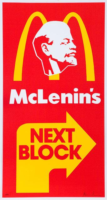 , 'McLenin's,' 1991, JART Gallery