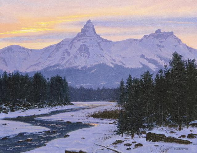 Reid Christie, 'Winter Sky', Heather James Fine Art
