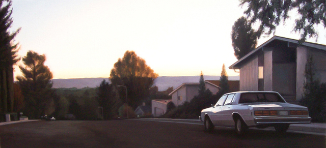 , 'Eichler Neighborhood at Dusk,' 2008, Hespe Gallery