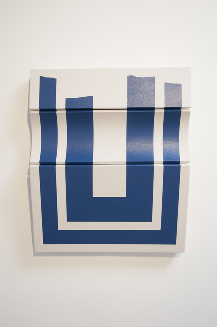 , 'Untitled Concave Blue,' 2018, Wilding Cran Gallery