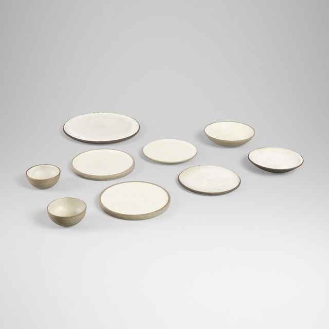 Aage and Kasper Wurtz, 'collection of nine serving pieces', Wright