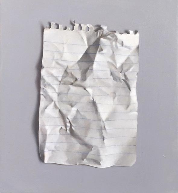 Natan Pernick, 'Notebook paper', 2017, Dan Gallery