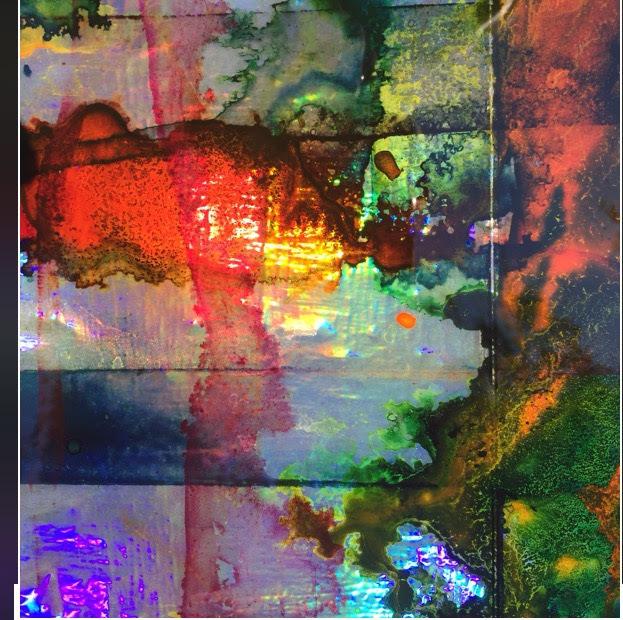 , 'Untitled (Acid Flag I) detail 2,' 2017, ArtHelix Gallery