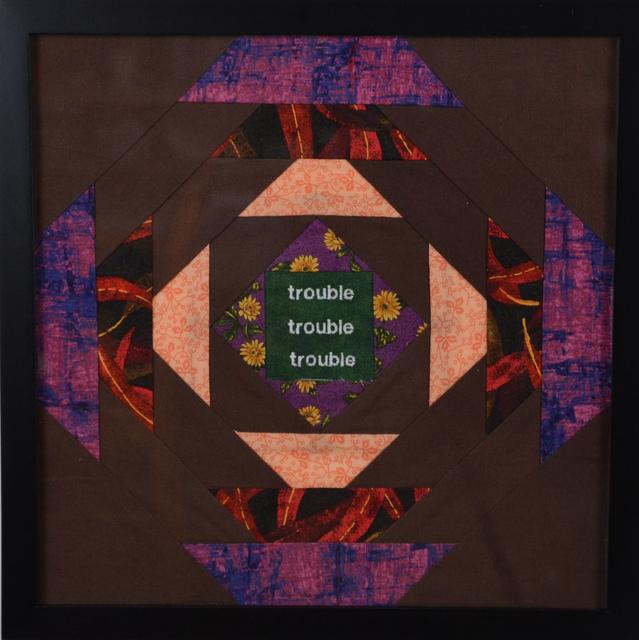 , 'trouble,' ca. 2014, InLiquid