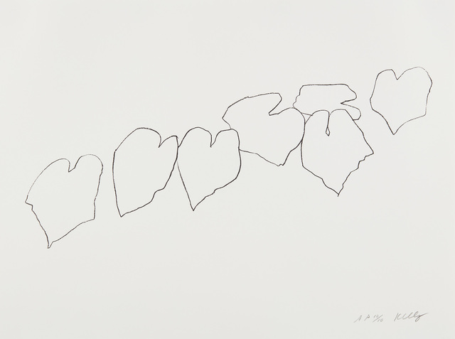Ellsworth Kelly, 'Wild Grape Leaves I, from Series of Five Plant and Flower Lithographs', 2004, Phillips