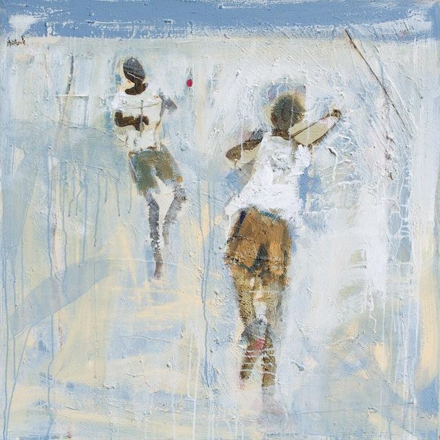 John Maitland, 'Beach Cricket ', 2014, Wentworth Galleries