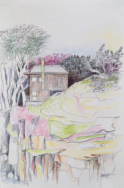 , 'Halprin Studio, Sea Ranch,' 1980, Edward Cella Art and Architecture
