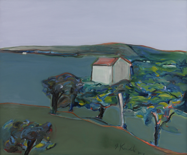 , 'Vineyard Countryside,' 2018, Caldwell Snyder Gallery