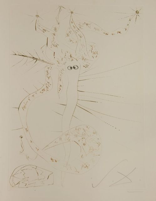 Salvador Dalí, 'Tristan the Mad', 1970, Print, Etching printed in colours, Sworders