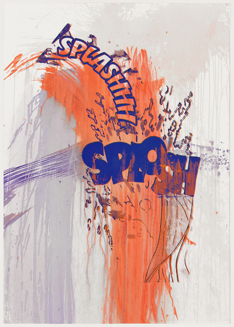 , 'Actions: Splashhh Splosh (No. 8),' 2012, Graphicstudio USF