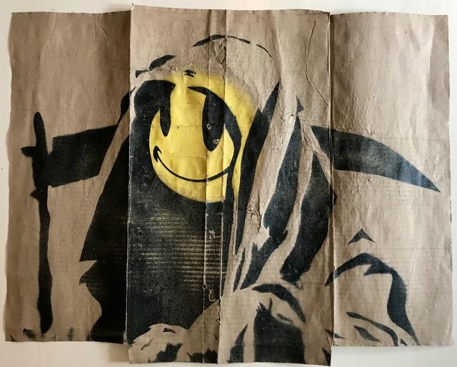 "Banksy, '""Grim Reaper""', 2002-2004, MultiplesInc Projects"