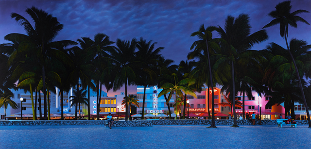 , 'Ocean Drive, South Beach, Miami,' , Plus One Gallery