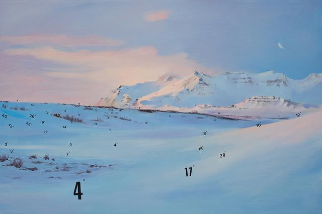 , 'Protracted Landscape no. 8,' 2015, Lazinc