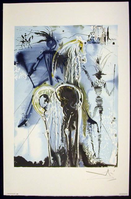 Salvador Dalí, 'Don Quichotte', 1983, Print, Lithograph on vélin d'Arches paper, Samhart Gallery