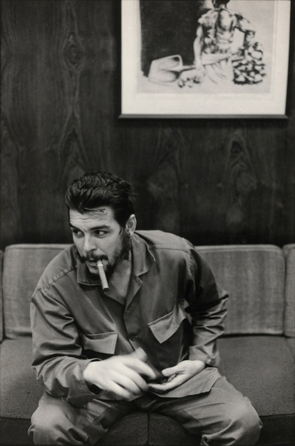 Elliott Erwitt, 'Che Guevara Interview, Havana, Cuba', 1946, Atlas Gallery
