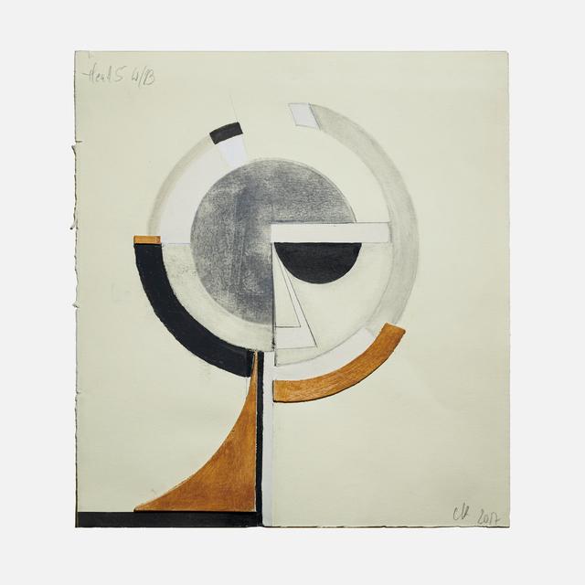 , 'Head 5,' 2017, Helwaser Gallery