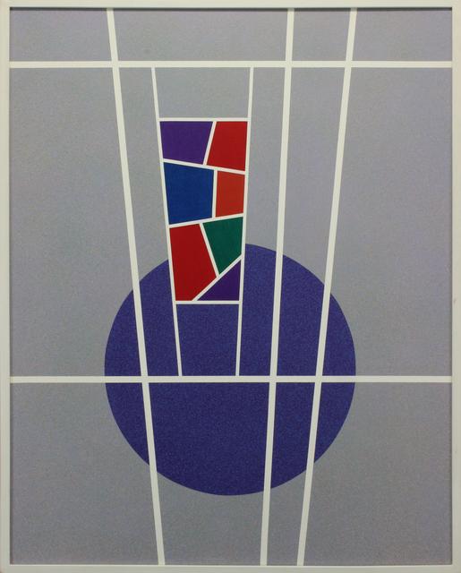 Raymond Jonson, 'Polymer No. 14', 1971, Painting, Acrylic on masonite, Addison Rowe Gallery