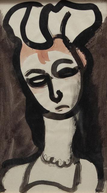 Georges Rouault, 'Demoiselle d'honneur de Ranavalo', 1915, Artrust