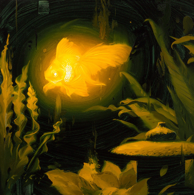 Rob Rey, 'Bioluminescence Goldie', 2018, Abend Gallery