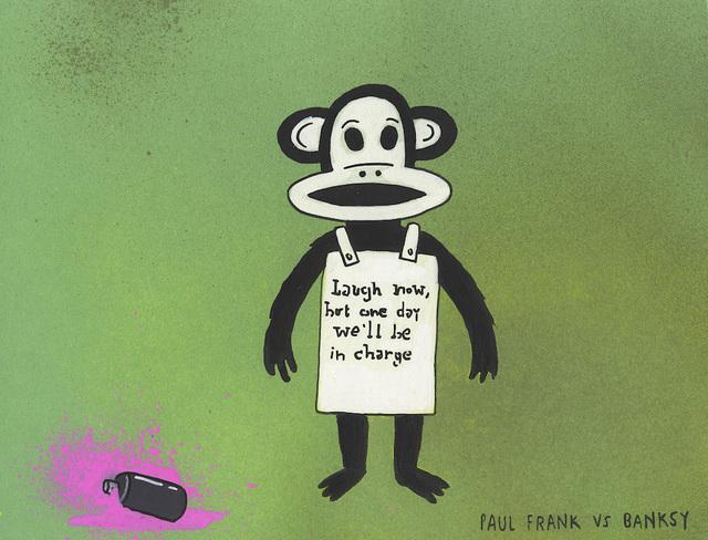, 'Paul Frank vs Banksy,' 2017, MARTINA'S GALLERY